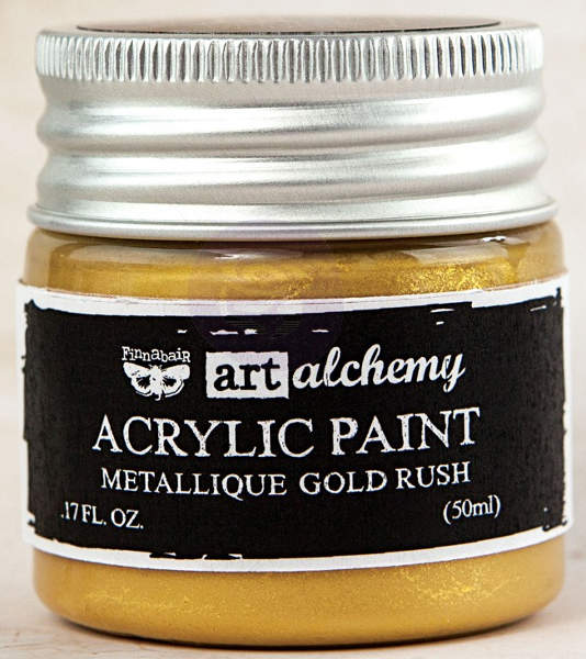 Art Alchemy Acrylic Paint - Metallique Gold - Prima