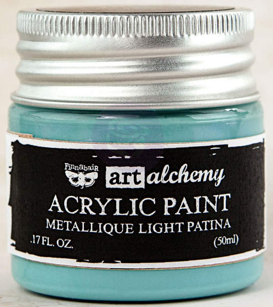 Art Alchemy Acrylic Paint - Metallique Light Patina - Prima