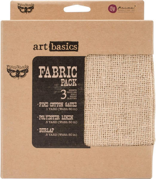 Art Basics - Fabric Pack by Finnabair - Prima