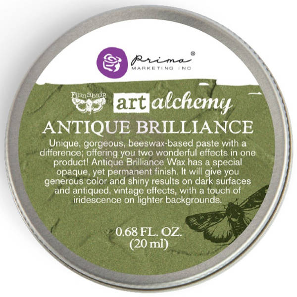 Art Alchemy Wax - Antique Brilliance Lucky Emerald - Prima