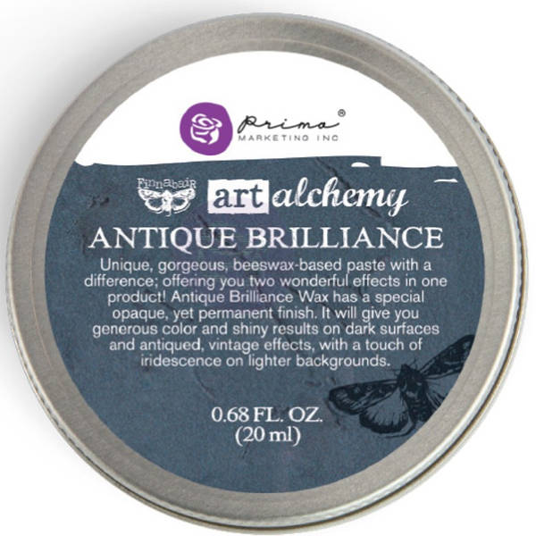 Art Alchemy Wax - Antique Brilliance Mystic Turquoise - Prima