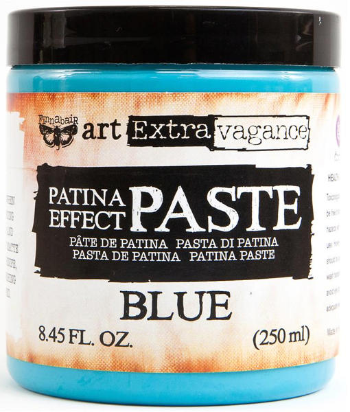 Art Extravagance - Patina Effect Paste Blue - Prima