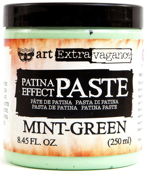 Art Extravagance - Patina Effect Paste Mint Green - Prima