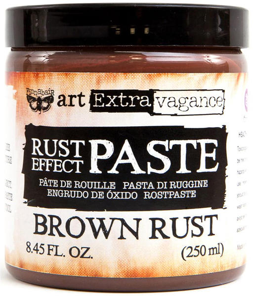 Art Extravagance - Rust Effect Paste Brown - Prima