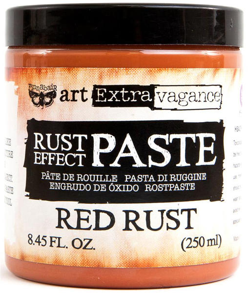 Art Extravagance - Rust Effect Paste Red - Prima
