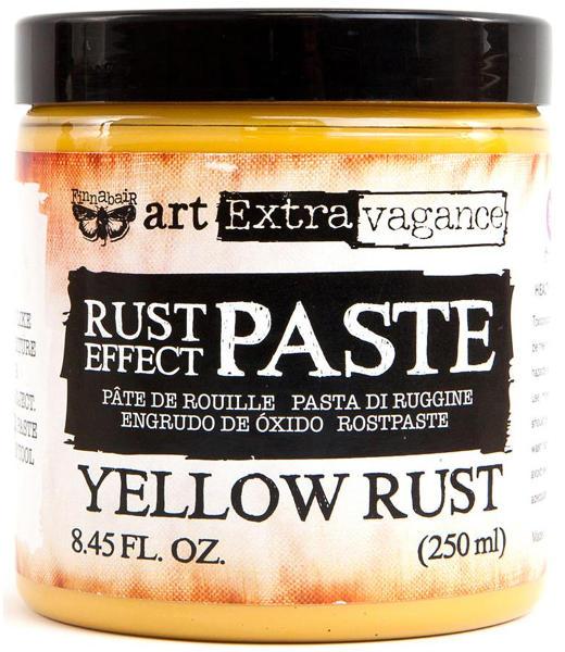 Art Extravagance - Rust Effect Paste Yellow - Prima