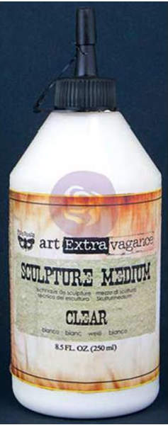 Art Extravagance - Sculpture Medium Clear by Finnabair - Prima