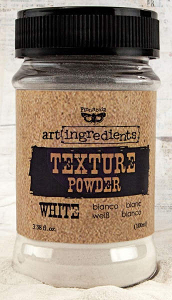 Art Ingredients 3D Fine Texture Powder - White by Finnabair - Prima