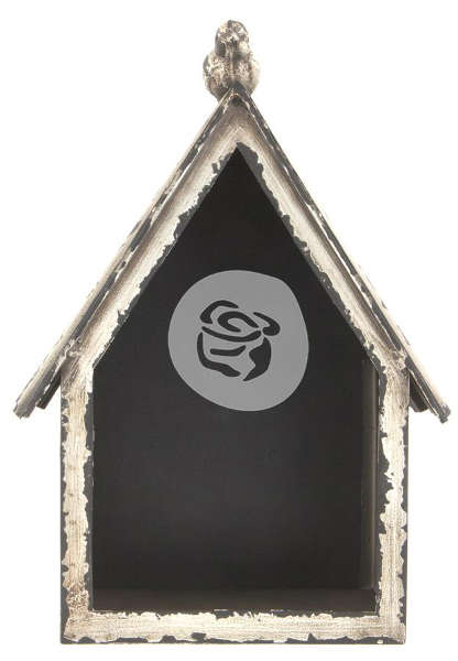 Altered Metal Frame - Bird House - Prima
