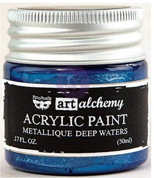 Art Alchemy Acrylic Paint - Metallique Deep Waters - Prima