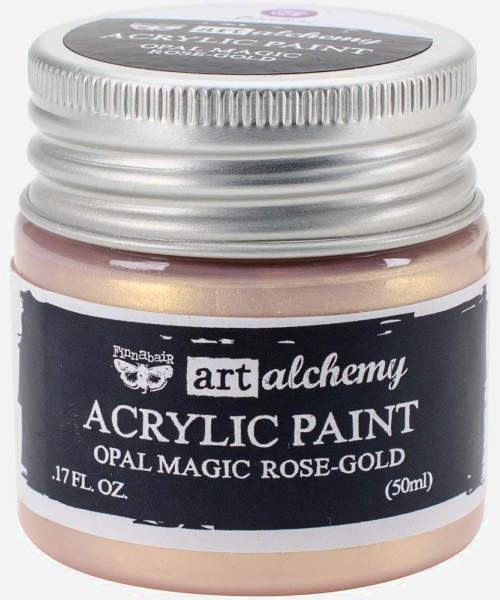 Art Alchemy Acrylic Paint - Opal Magic Rose-Gold - Prima