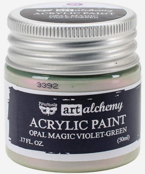Art Alchemy Acrylic Paint - Opal Magic Violet-Green - Original - Prima