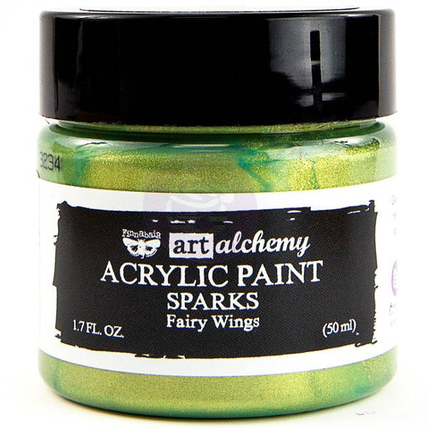 Art Alchemy Acrylic Paint - Sparks Fairy Wings - Prima