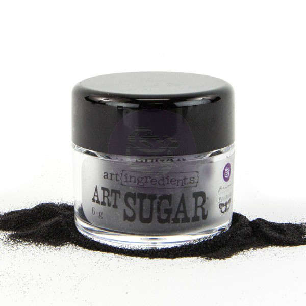 Art Ingredients Art Sugar - Black by Finnabair - Prima