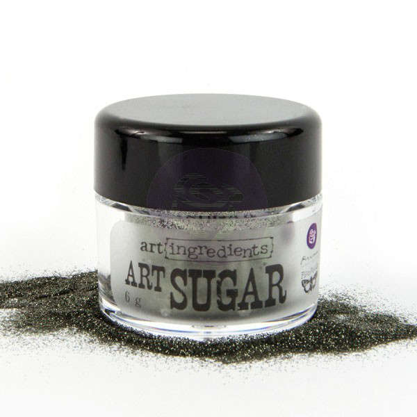 Art Ingredients Art Sugar - Charcoal by Finnabair - Prima
