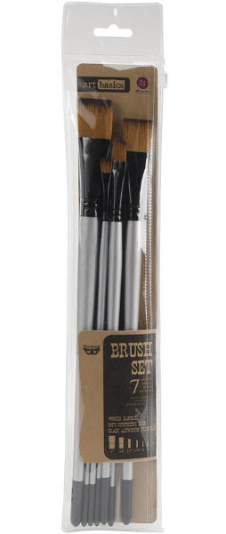 Art Basics - Brush Set - 7pc by Finnabair - Prima