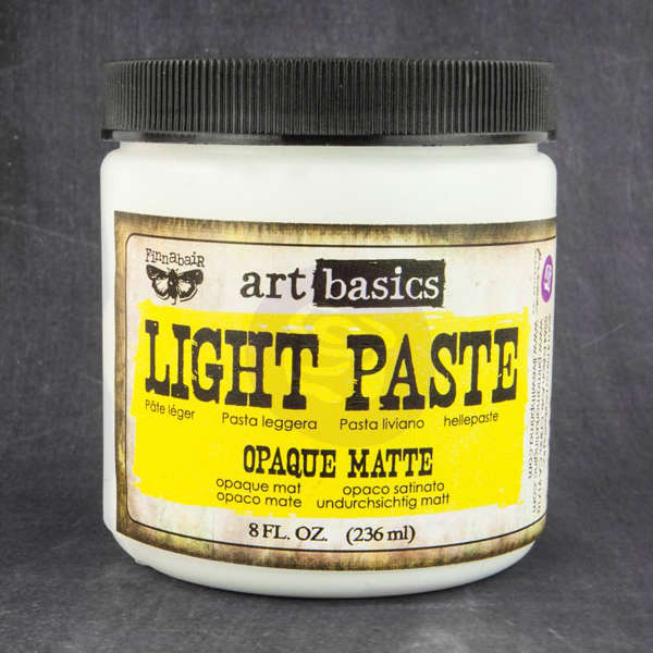 Art Basics - Light Paste - Opaque Matte by Finnabair - Prima