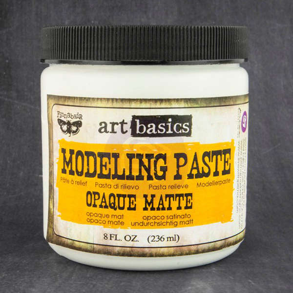 Art Basics - Modeling Paste - Opaque Matte by Finnabair - Prima