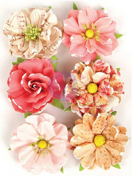 Love Clippings Flowers - Together - Prima