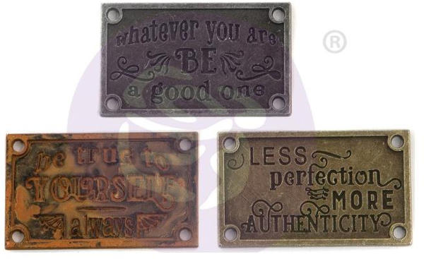Mechanicals - Old Plates by Finnabair - Prima
