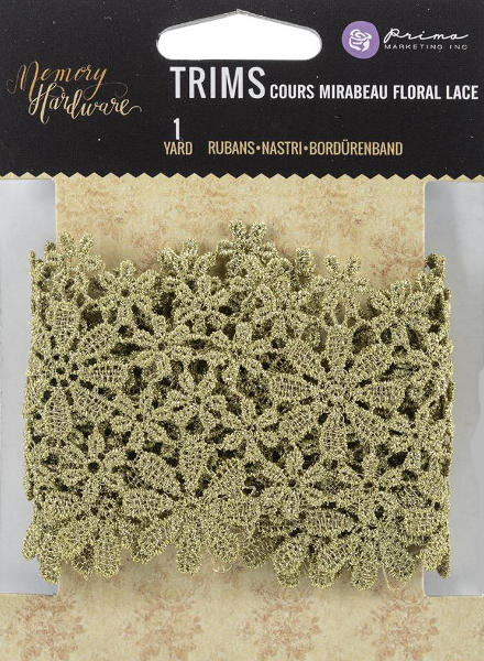 Memory Hardware - Cours Mirabeau Floral Lace - Frank Garcia - Prima