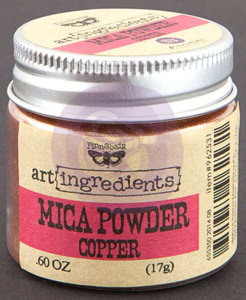 Art Ingredients Mica Powder -  Copper by Finnabair - Prima