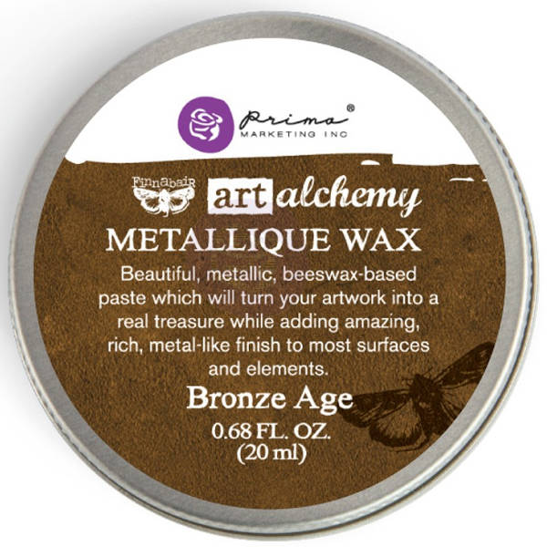 Art Alchemy Wax - Metallique Bronze Age - Prima
