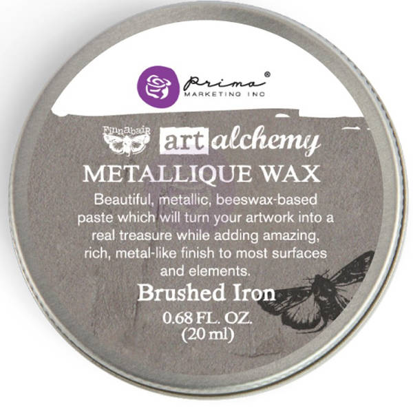 Art Alchemy Wax - Metallique Brushed Iron - Prima