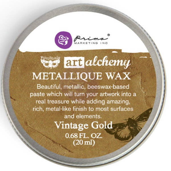 Art Alchemy Wax - Metallique Vintage Gold - Prima