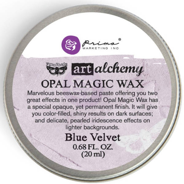 Art Alchemy Wax - Opal Magic Blue Velvet - Prima