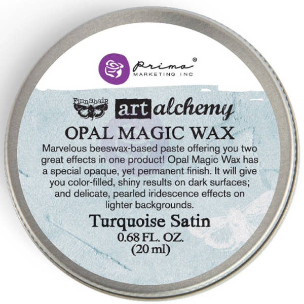 Art Alchemy Wax - Opal Magic Turquoise Satin - Prima