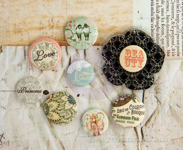 Princess - Flair Buttons - Prima