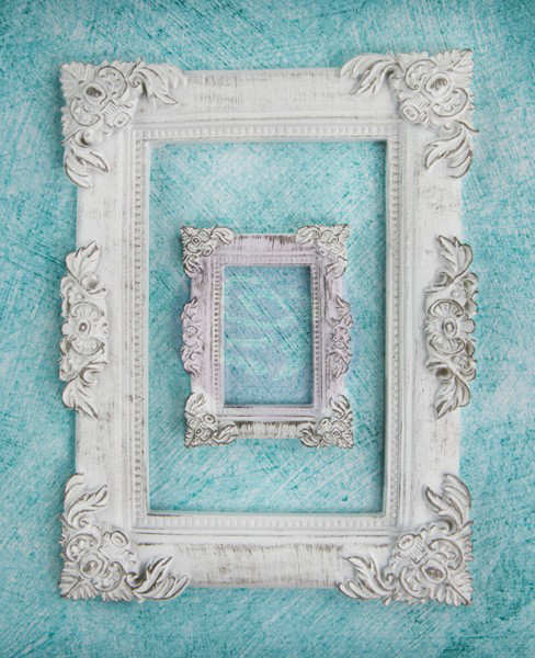 Shabby Chic - Baroque Frame Resins - Prima