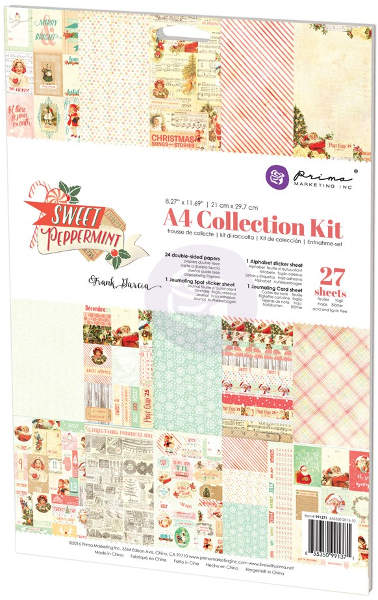 Sweet Peppermint  - A4 Collection Kit - Prima