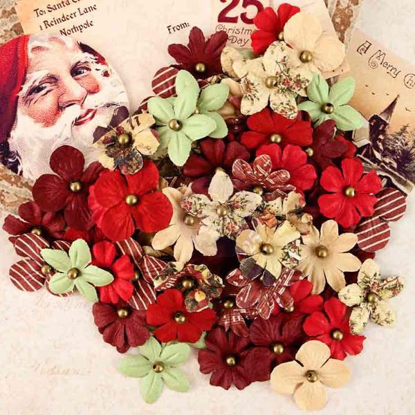 A Victorian Christmas Flowers - Rudolph`s Nose - Prima