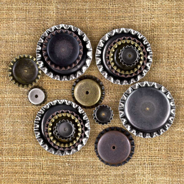 Vintage Mechanicals - Bottle Caps - Prima