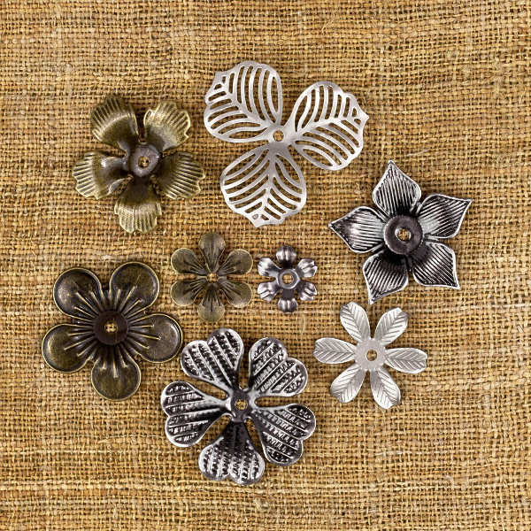 Vintage Mechanicals - Mini Flowers - Prima