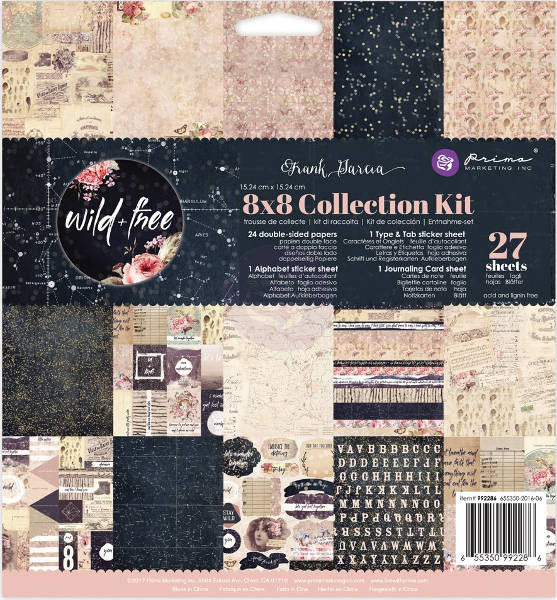 Wild & Free -   8x8 Collection Kit - Prima