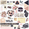 Wild & Free - Chipboard & More - Prima