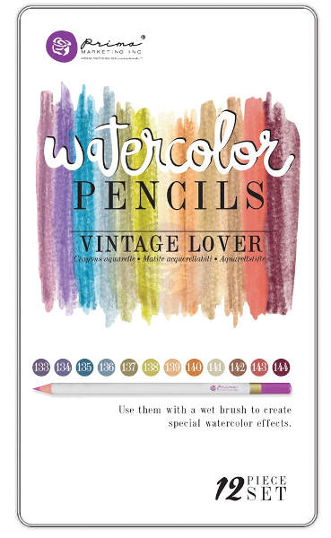 Watercolor Pencils - Vintage Lover - Prima