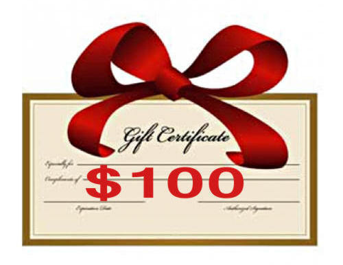 $100 Gift Certificate - Creative Inspirations