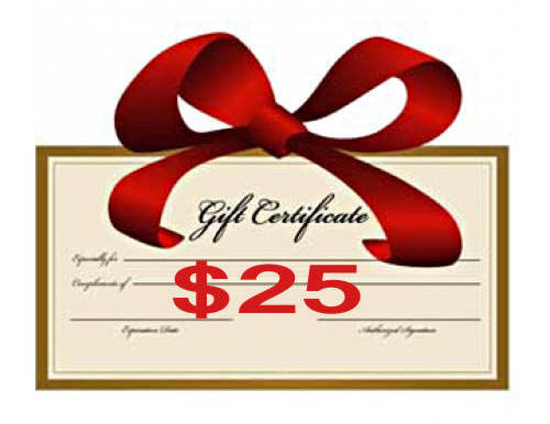 $25 Gift Certificate - Creative Inspirations
