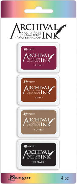 Archival  Mini Ink Pads Kit 2 - Ranger