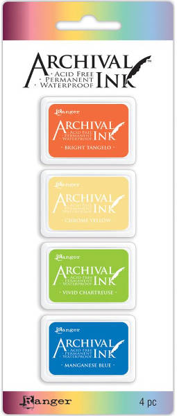 Archival  Mini Ink Pads Kit 3 - Ranger