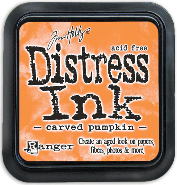Distress Ink Pads Carved Pumpkin - Tim Holtz - Ranger