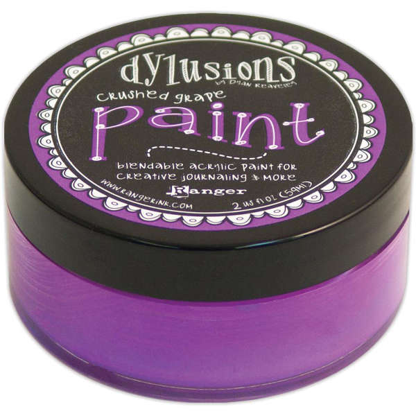 Dylusions Paints - Crushed Grape - Ranger