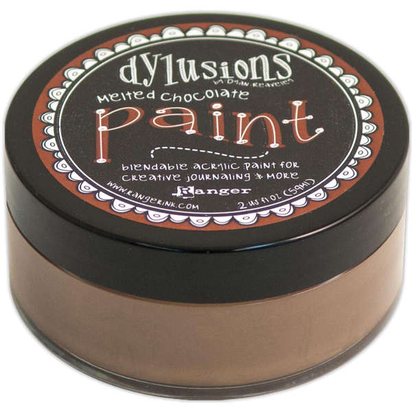 Dylusions Paints - Melted Chocolate - Ranger