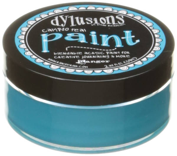 Dylusions Paints - Calypso Teal - Ranger