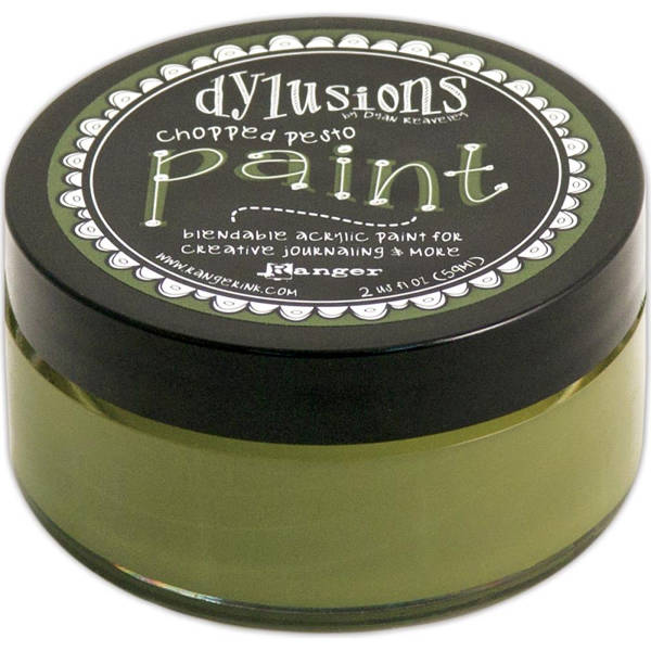 Dylusions Paints - Chopped Pesto - Ranger