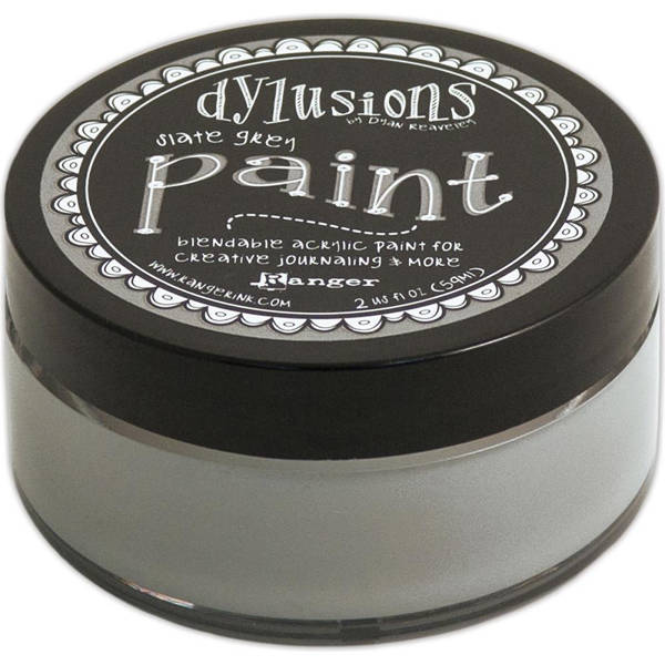 Dylusions Paints - Slate Grey - Ranger